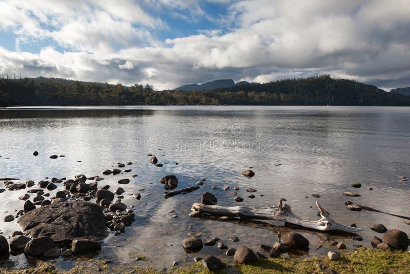 See-St. Clair Tasmania Australia lizenzfreies stockbild