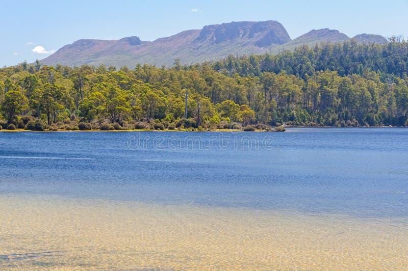 See-St. Clair - Tasmanien stockbilder