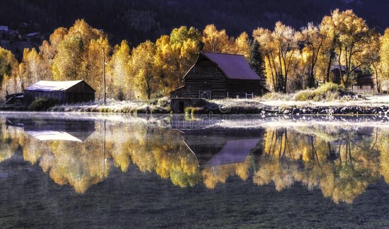 See-Stadt Colorado lizenzfreies stockfoto