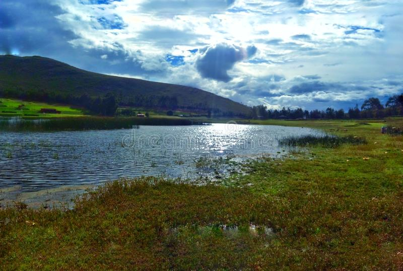 See Suyuscocha-Namora - Cajamarca: Ein See Geheimnis lizenzfreie stockfotos