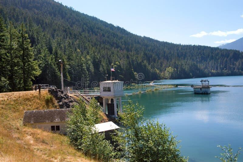 See-Tausendstel und Glines Schlucht-Verdammung lizenzfreie stockbilder
