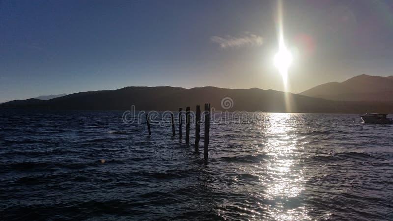 See Te Anau lizenzfreies stockfoto