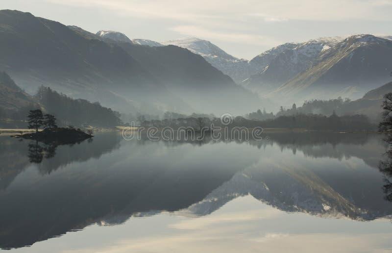 See Ullswater Reflexionen stockfoto