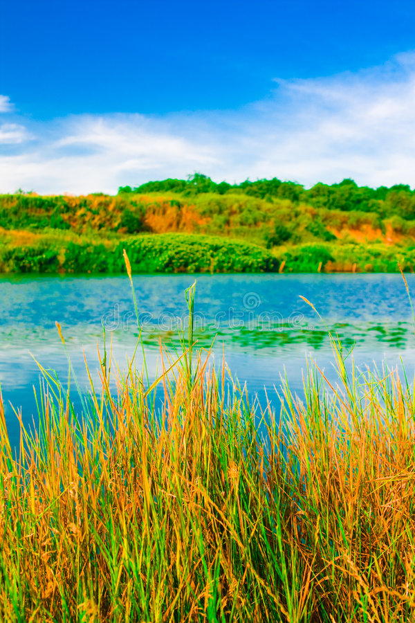 See und Natur stockbilder