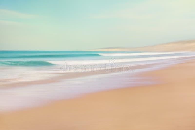 See-und Sand-Zusammenfassung lizenzfreie stockfotografie