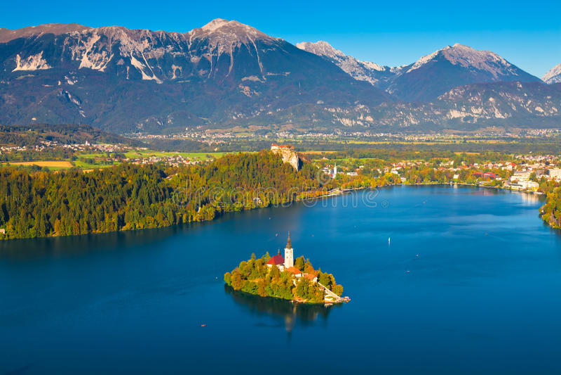 See verlaufen, Slowenien stockfotos