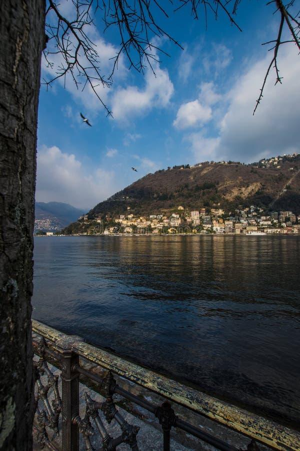 See von Como, schönes Deatail stockbild