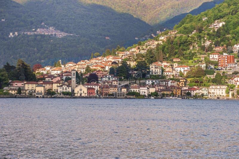 See von Como in Torno lizenzfreie stockbilder