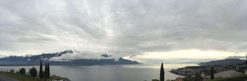 See von Genf Suisse stockbild