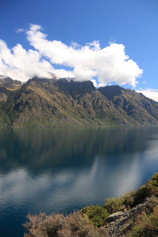 See Wakatipu lizenzfreies stockfoto