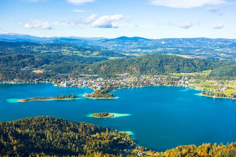 See wert das Schauen vom Turm lizenzfreies stockfoto