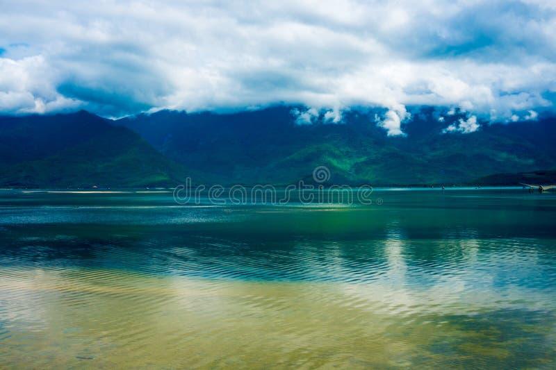 Seeansicht von Vietnam stockbild