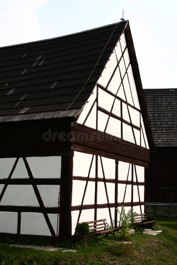 Seeberg (奥斯特罗赫)谷仓 免版税库存图片