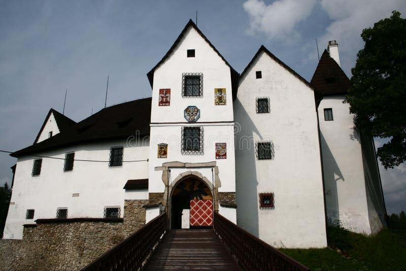 Seeberg (Ostroh) slott royaltyfria bilder