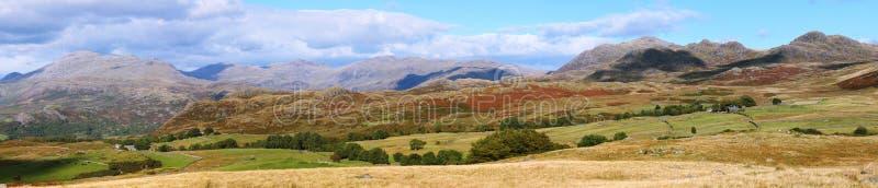 Seebezirk England Im Panorama Stockfotografie