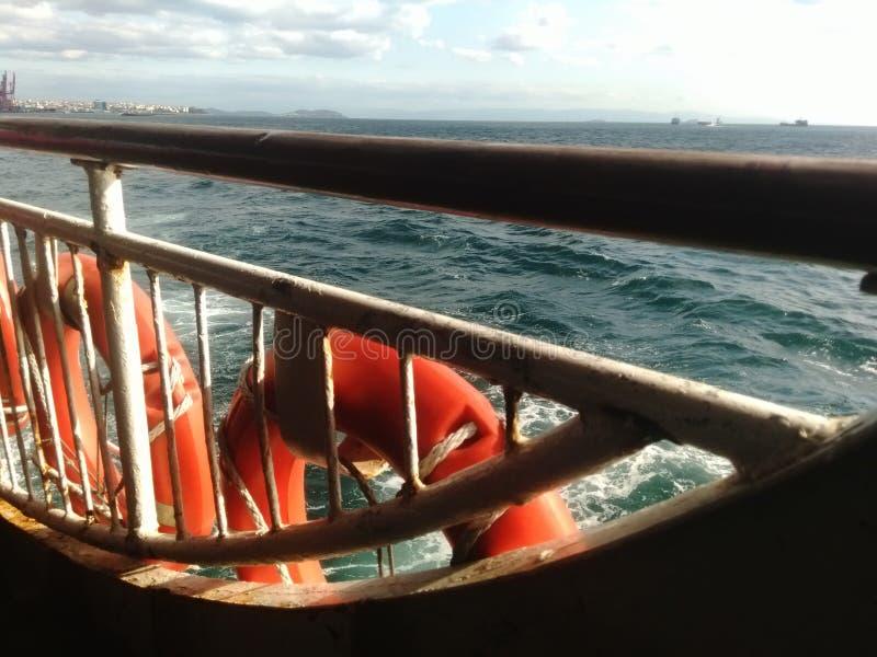 Seebootsreise Istanbul lizenzfreie stockfotos