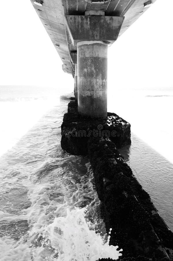 Seebrücke stockfotografie