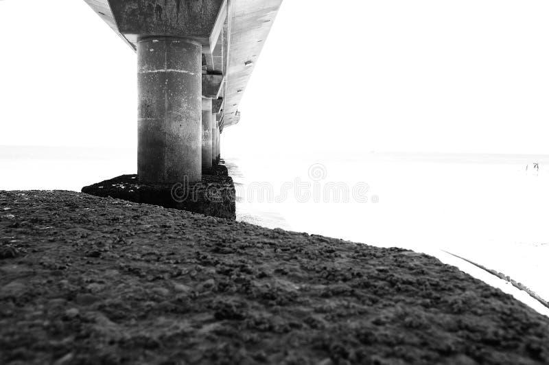 Seebrücke stockfotos