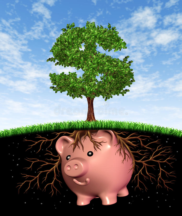 Download Seed Money stock illustration. Image of bearing, equities - 23315822