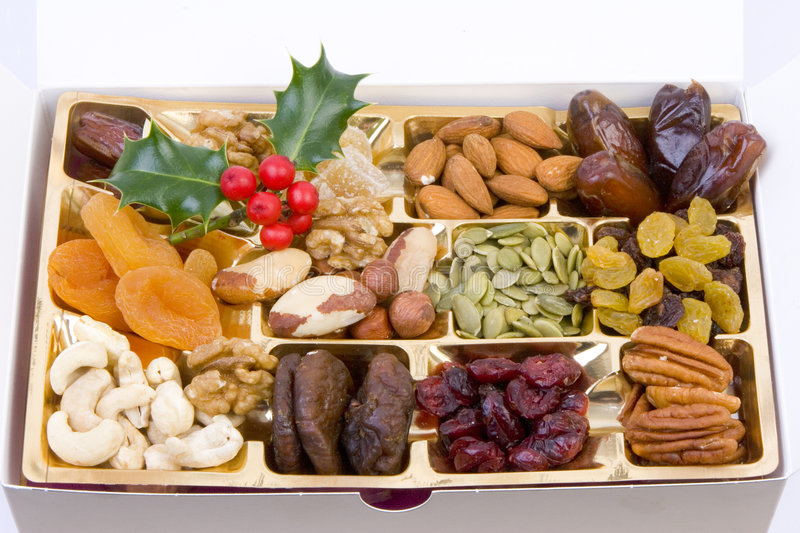 Seed selection box royalty free stock images