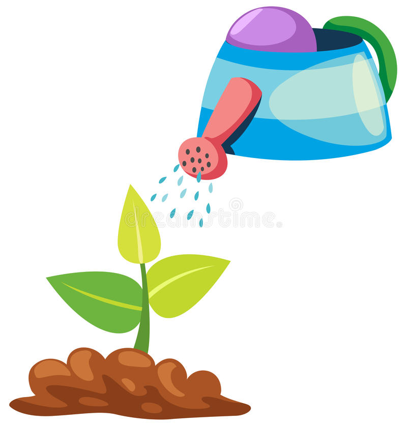 Download Seeding stock vector. Illustration of care, isolated - 20393111