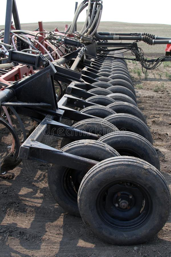 Seeding in Saskatchewan royalty free stock photos