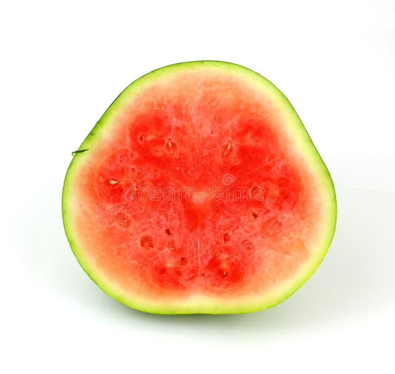 seedless liten splitvattenmelon royaltyfri bild