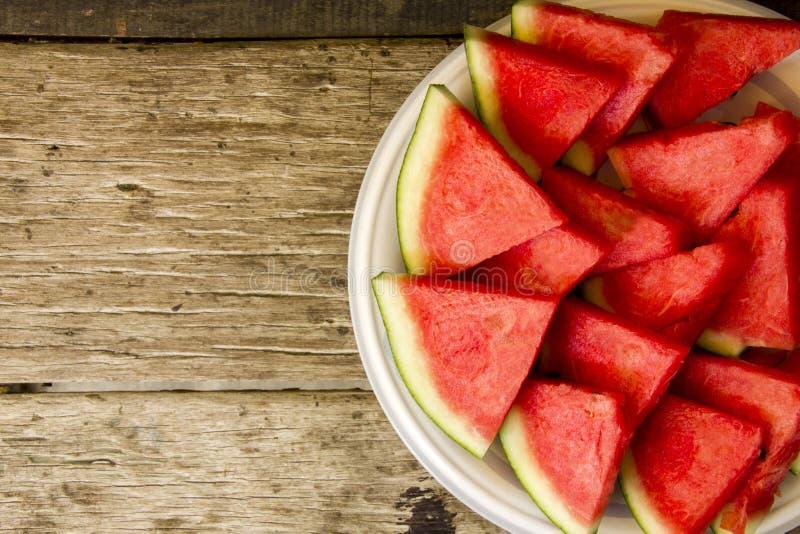 seedless vattenmelon royaltyfria foton