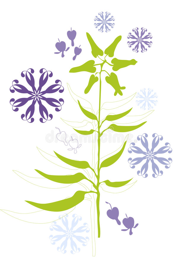 Download Seeds stock vector. Image of environment, flourish, floral - 5644732