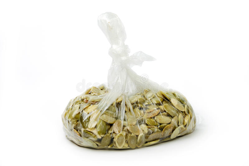 Seeds In Clear Bag Stock Photos