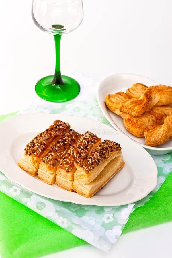 Download Seedy, salty cookies stock photo. Image of cholesterol - 20490586