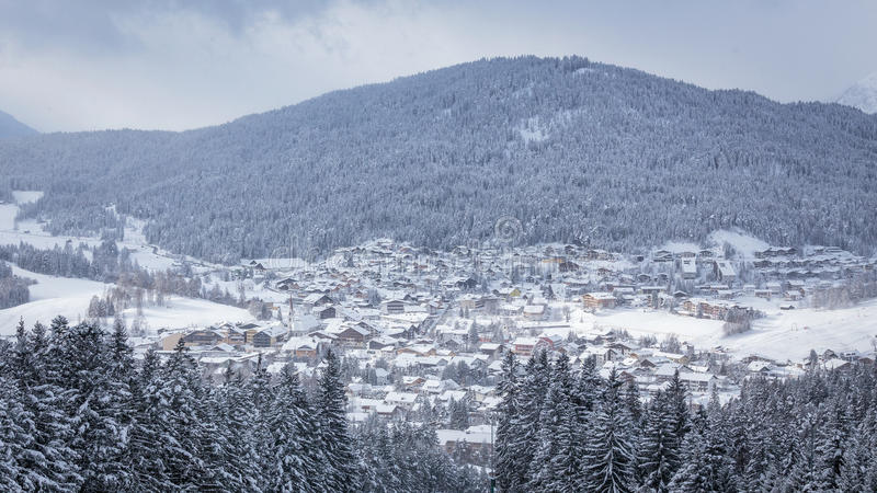 Seefeld w Tirol fotografia royalty free