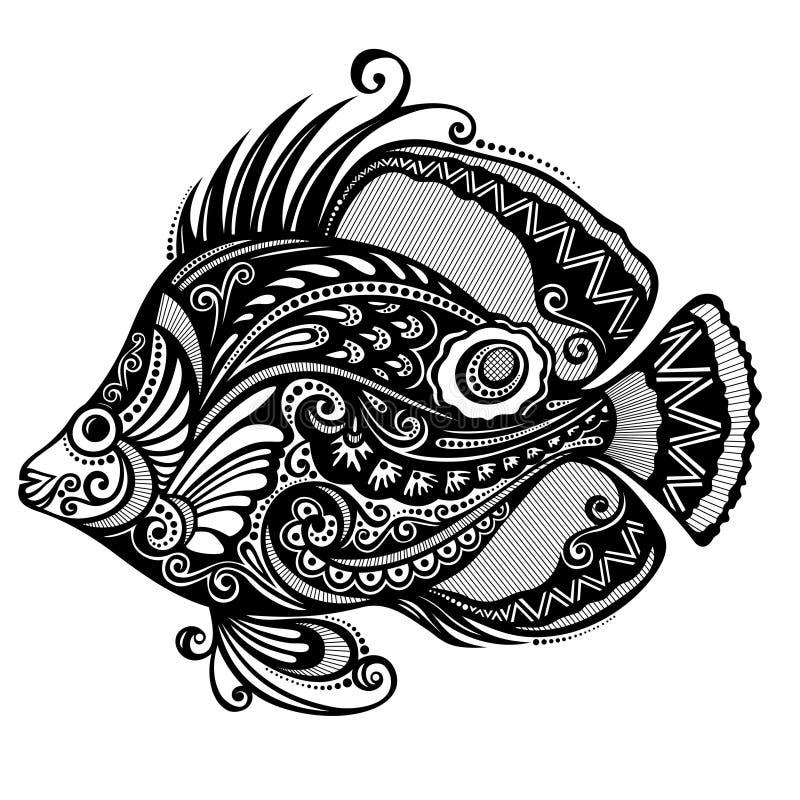 Seefisch vektor abbildung