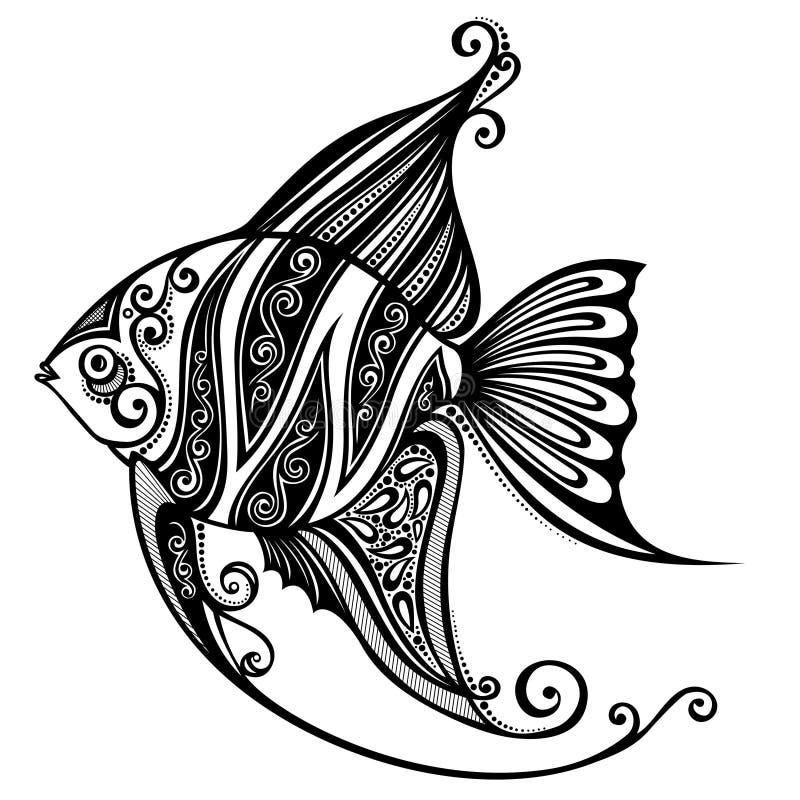 Seefisch stock abbildung