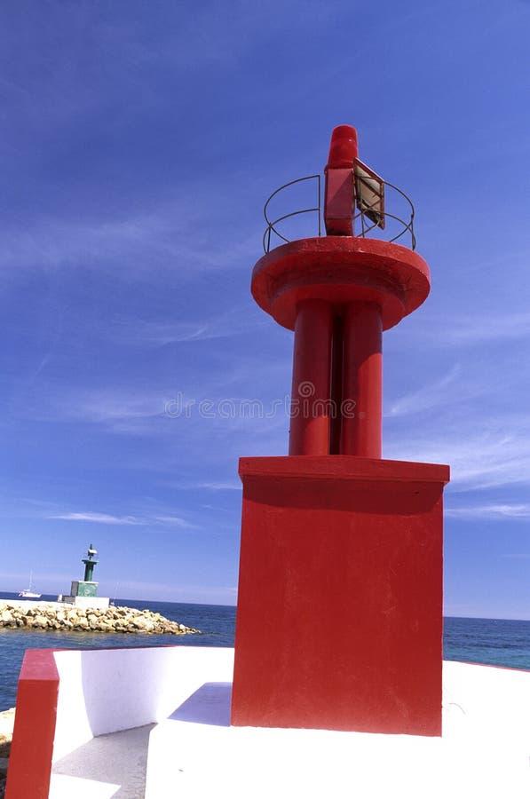 Seehafen Tunesien lizenzfreie stockfotografie