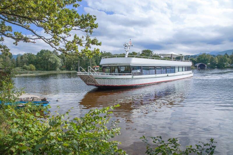 Seehausen, lac Staffelsee, Bavière, Allemagne photos libres de droits