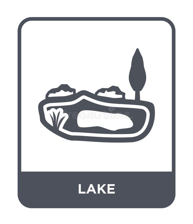 Seeikone in der modischen Entwurfsart Seeikone lokalisiert auf weißem Hintergrund einfaches und modernes flaches Symbol der Seeve stock abbildung