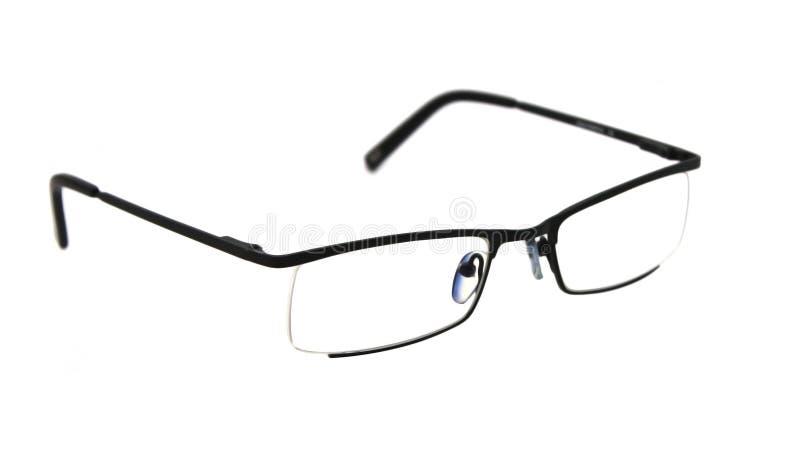 Seeing glasses on white stock photo