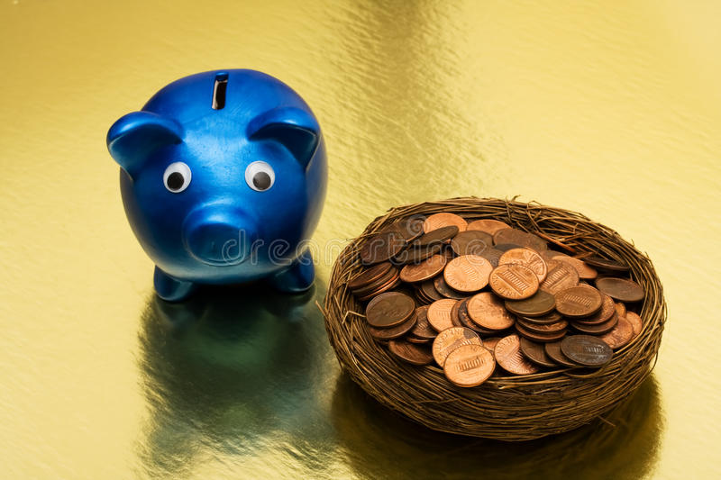Seeing Your Savings stock photography