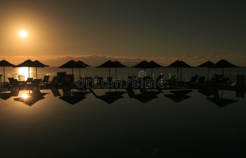 Seeküste von Teneriffa Kanarische Inseln stockfotografie