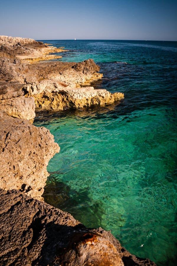 Seeküstenlinie stockbild