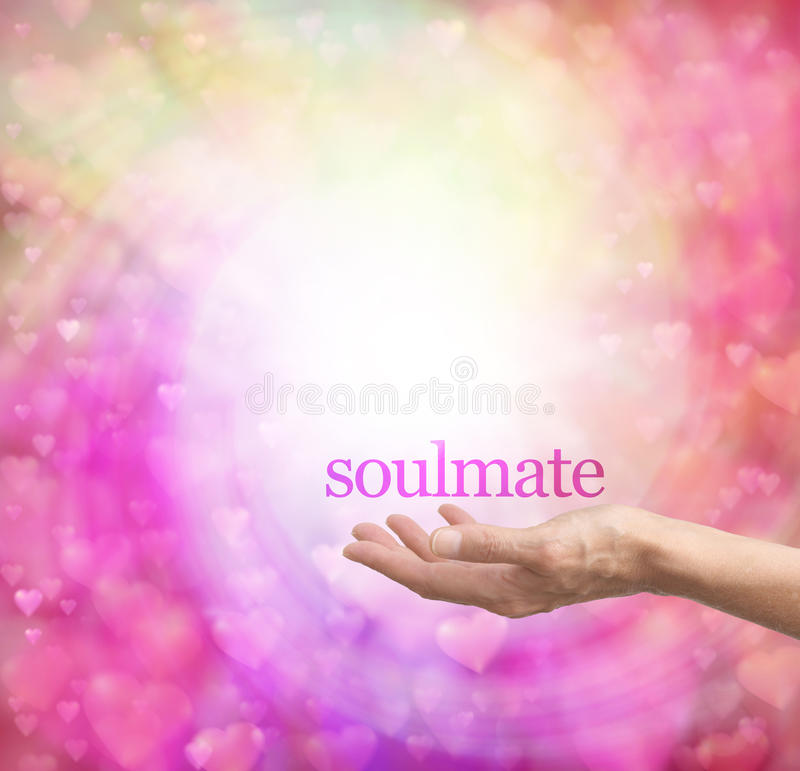 Seeking a soulmate stock image