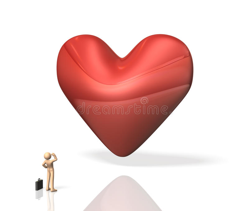 Download He is seeking tenderness. stock illustration. Illustration of search - 31307349