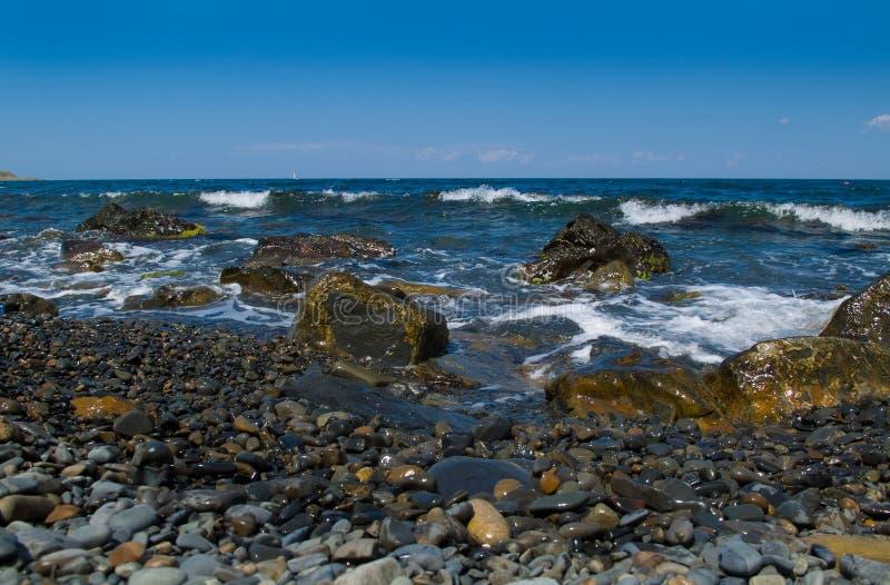 Seelandschaft lizenzfreies stockbild