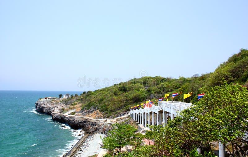 Seelandschaft in Srichang-Insel lizenzfreie stockfotografie