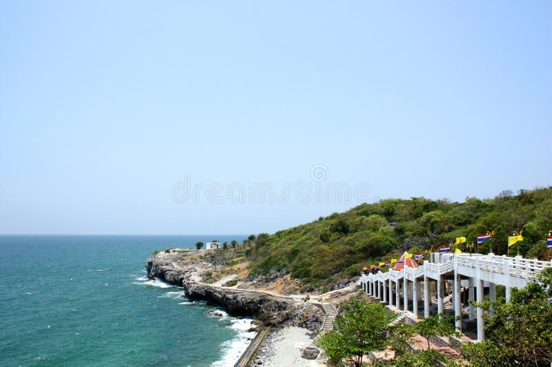 Seelandschaft in Srichang-Insel stockbilder