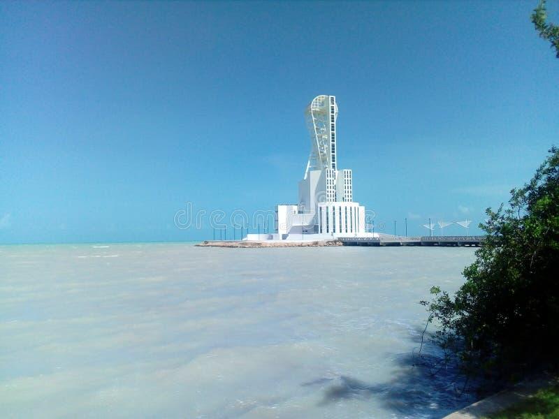 Seeleuchtturm lizenzfreies stockbild