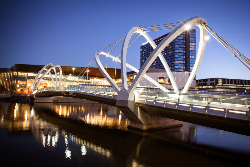Seeleute überbrücken in Melbourne stockfotografie