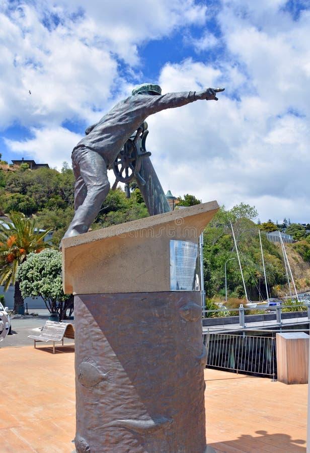Seeleute Erinnerungs in Nelson, Neuseeland lizenzfreies stockbild