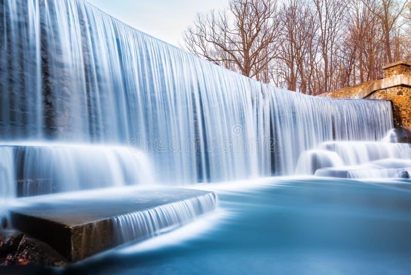 Seeleys Teichwasserfall, in New-Jersey stockfoto